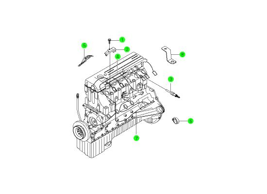 engine wiring om600