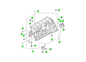 Блок цилиндров (D27)