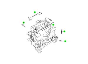 Проводка двигателя (GSL)