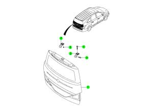 Панель двери багажника