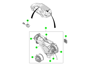AIR CONDITIONER MODULE(REAR)