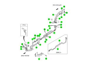 AIR CONDITIONER HOSE & PIPE(2)