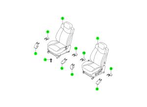 FRONT SEAT(DAEWON KANG UP)
