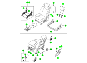 FRONT SEAT PARTS(HANIL)