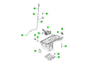 OIL PAN & PUMP(D20F,D20R,D22F,D22R)