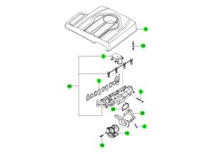 INTAKE MANIFOLD(D20F,D20R,D22F,D22R)