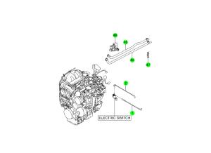 EXHAUST GAS RECIRCULATION SYSTEM(D20F,D20R,D22F,D22R)