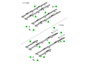 REAR SEAT RAIL