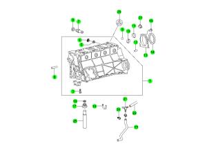 Блок цилиндров (E23)