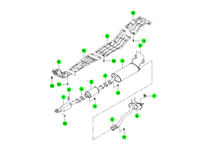 Выпускная система (E23)