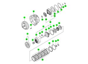 Конвертер и масляный насос (M78:DSI 6A/T)