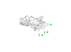 Клапан и компоненты (M78:DSI 6A/T)