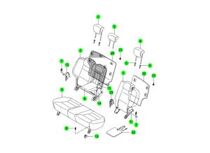 Задние сидения