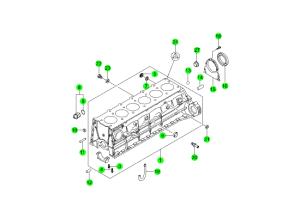 Блок цилиндров (E32)