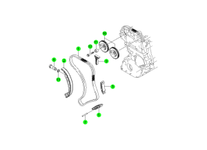 Цепной привод (D20,D27)