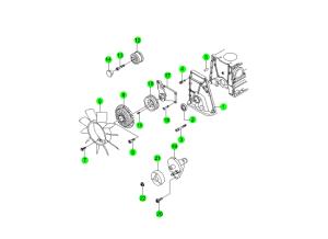 Компоненты ГРМ (E32)