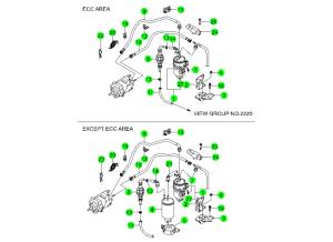 FUEL FILTER & LINE(D20,D27)