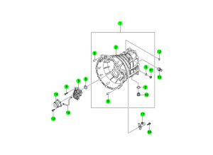 CLUTCH HOUSING-TSM52(M/T,2WD)