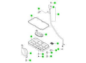 OIL PAN & ACCESSORIES(DC 5A/T)