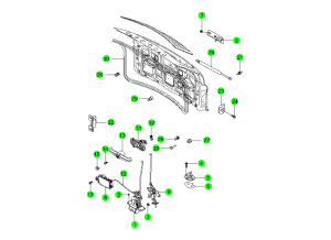 Система открывания двери багажника