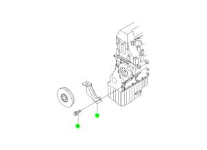 T.D.C SENSOR BRACKET(OM600)
