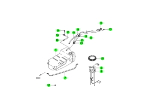 Топливный бак (DSL)