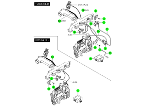 EXHAUST GAS RECIRCULATION SYSTEM(KOREA2004)