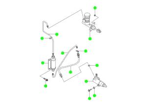 Механизм управления сцеплением