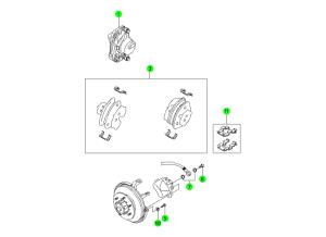Передние тормоза