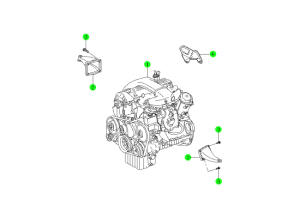 ENGINE UNIT(OM661,OM661LA)