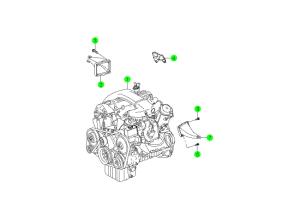 ENGINE UNIT(OM662,OM662LA)