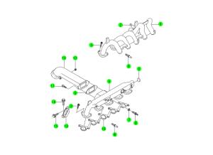 INTAKE MANIFOLD(OM662,OM662LA)