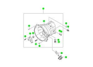 CLUTCH HOUSING-TSM54(M/T,4WD)