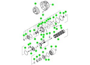 Конвертер и масляный насос (BTR M74)