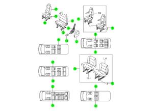 REAR SEAT-1ST LINE