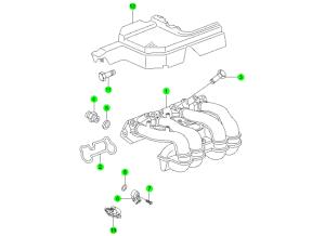 Впускной коллектор (E23)