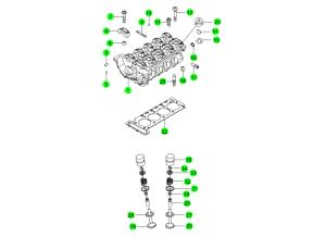 Головка блока и комплект прокладок (GSL)