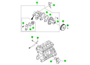 COOLING SYSTEM(OM600,D20,D27)