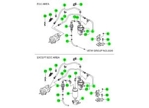 FUEL FILTER & LINE(D20)