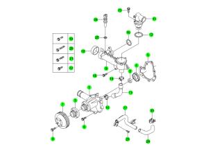 Система охлаждения (E23)