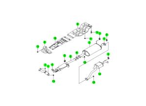 Выпускная система (CDPF)