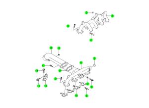 INTAKE MANIFOLD(OM661,OM661LA)