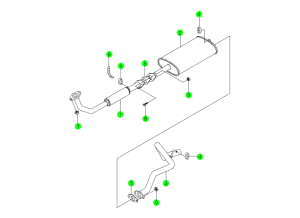 EXHAUST SYSTEM(DSL)