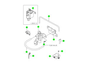 EXHAUST GAS RECIRCULATION SYSTEM