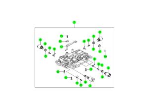 Клапан и компоненты (BTR M74)