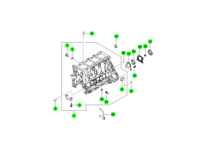CYLINDER BLOCK(D20F,D20R,D22F,D22R)