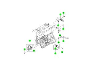 COOLING SYSTEM(D20F,D20R,D22F,D22R)