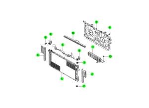 Радиатор и вентилятор