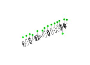 CLUTCH & DRIVE GEAR(HPT 6A/T)