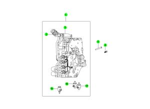 VALVE BODY(M11:DSI 6A/T)